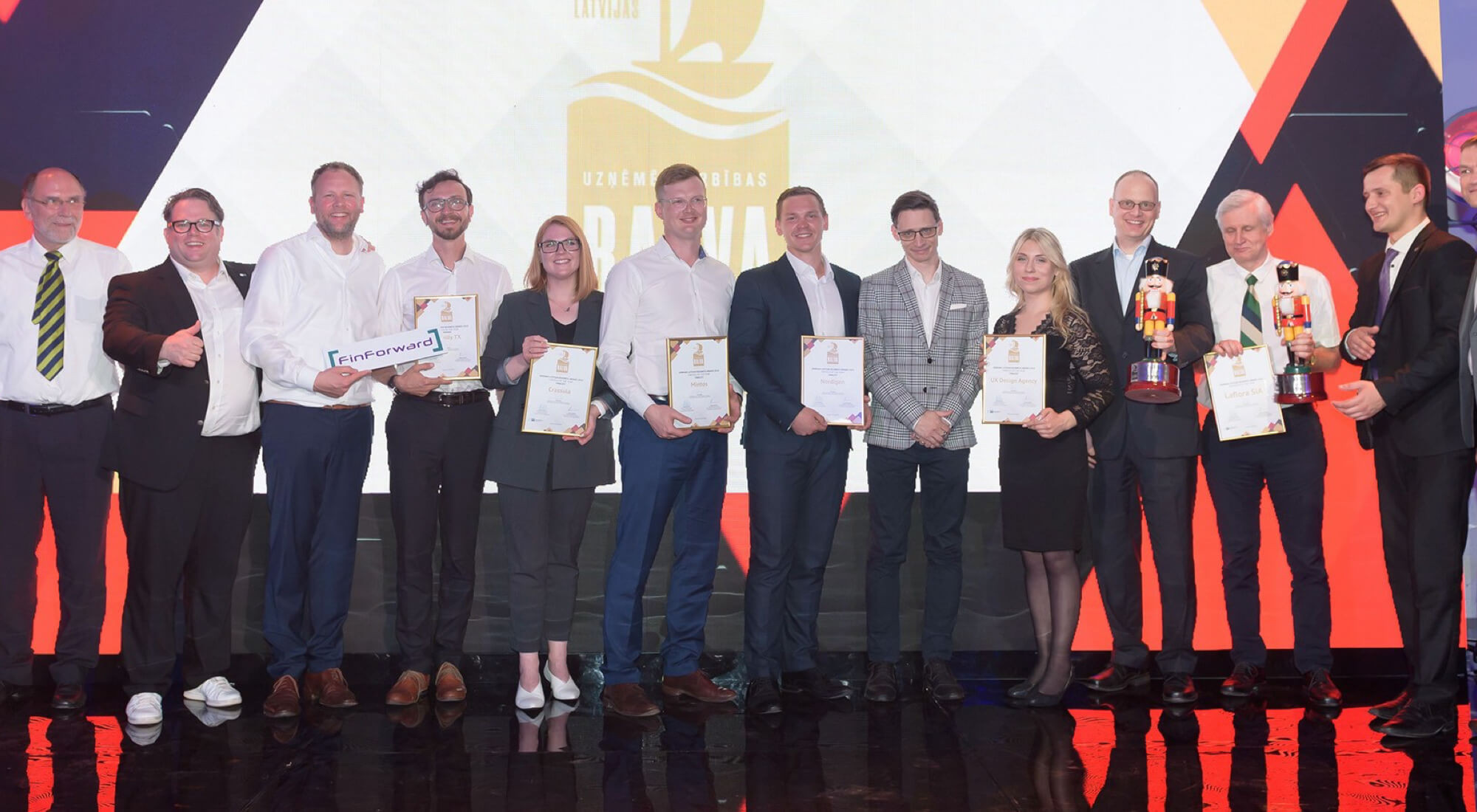UXDA - One of the Leading FinTech Companies in German-Baltic Business Awards