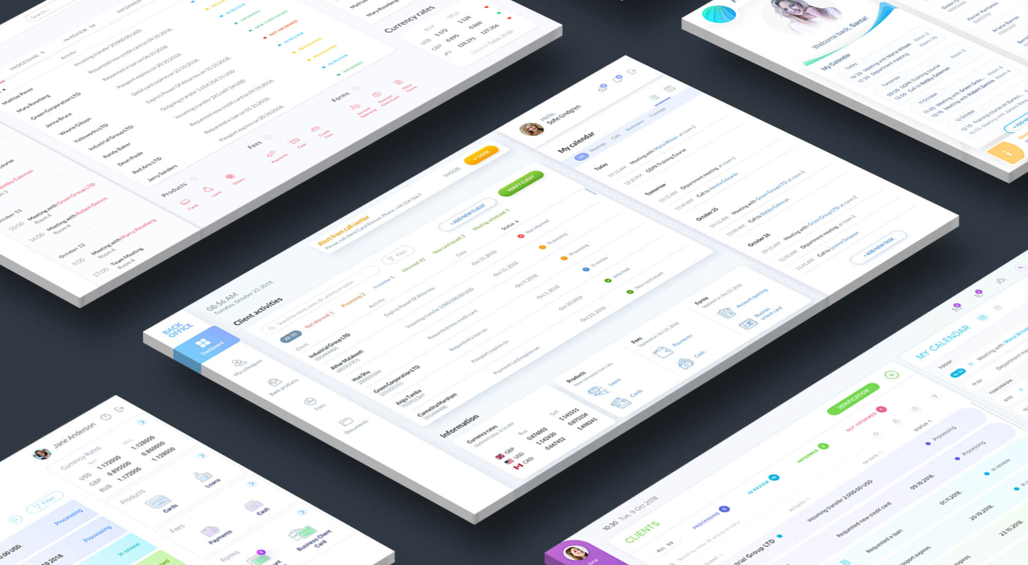 Core Banking UI Design that will Change Perception of the Service Design