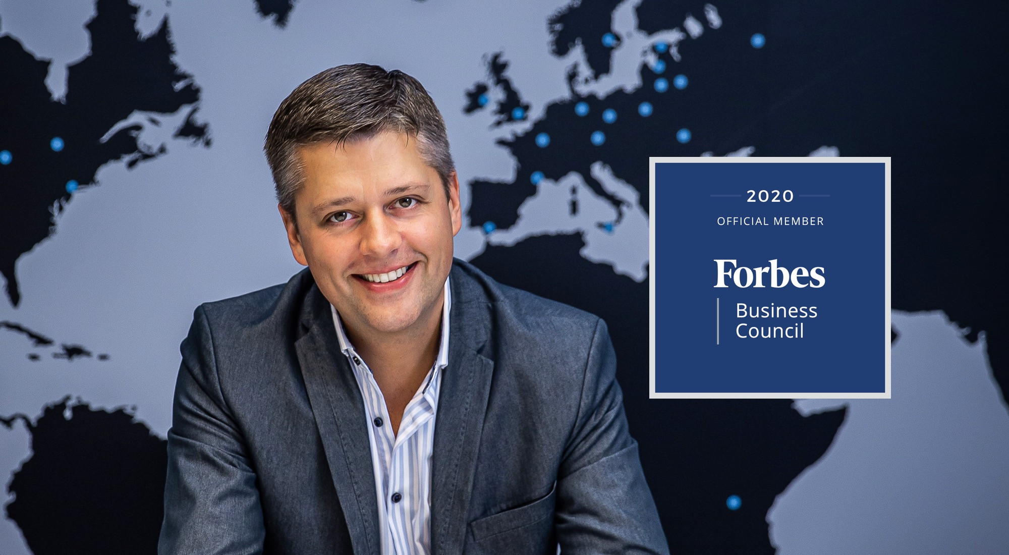 UXDA's Founder CEO Alex Kreger Becomes a Member of the Prestigious Forbes Business Council