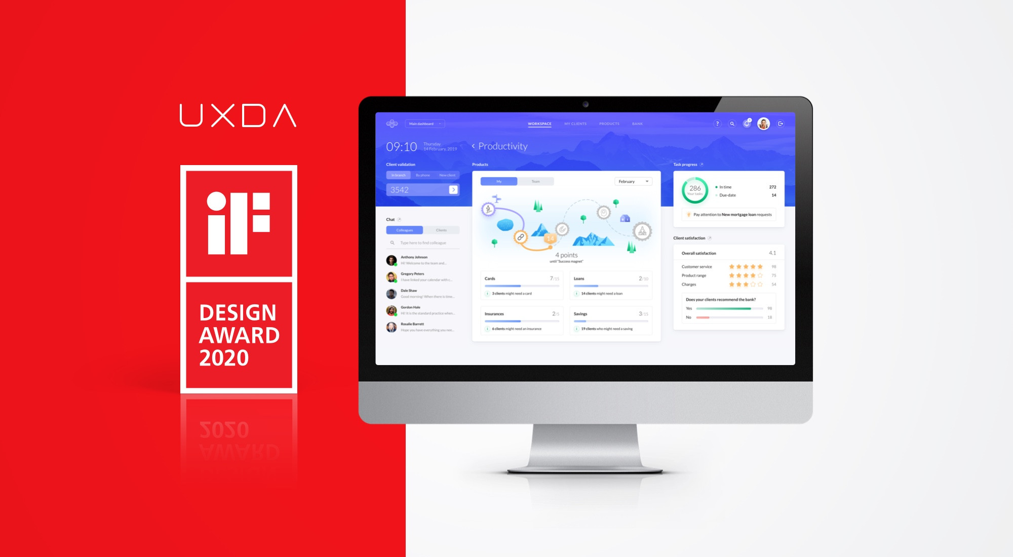 UXDA Wins the World-Famous IF Design Award