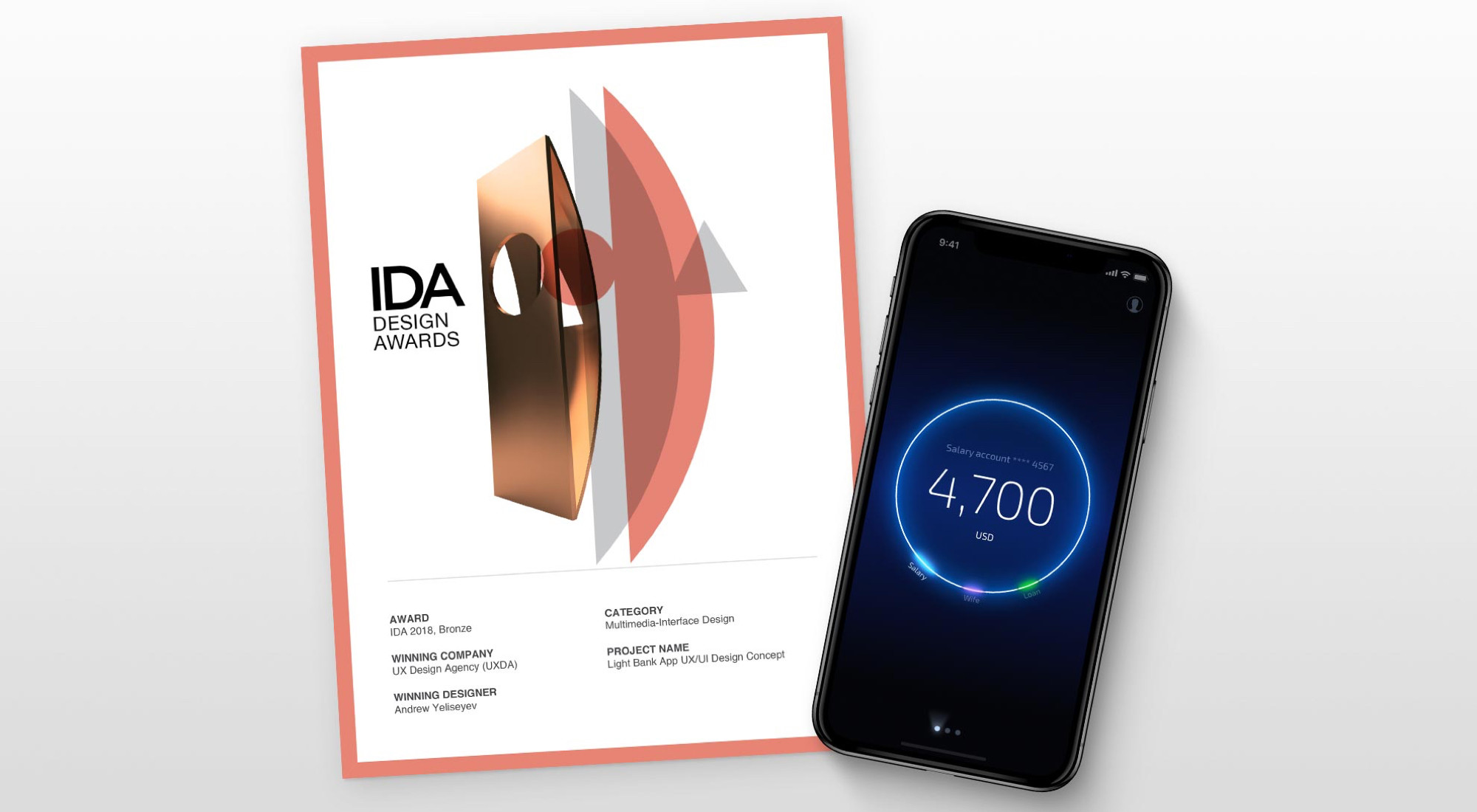 Financial UX Design Agency Receives the International Design Award