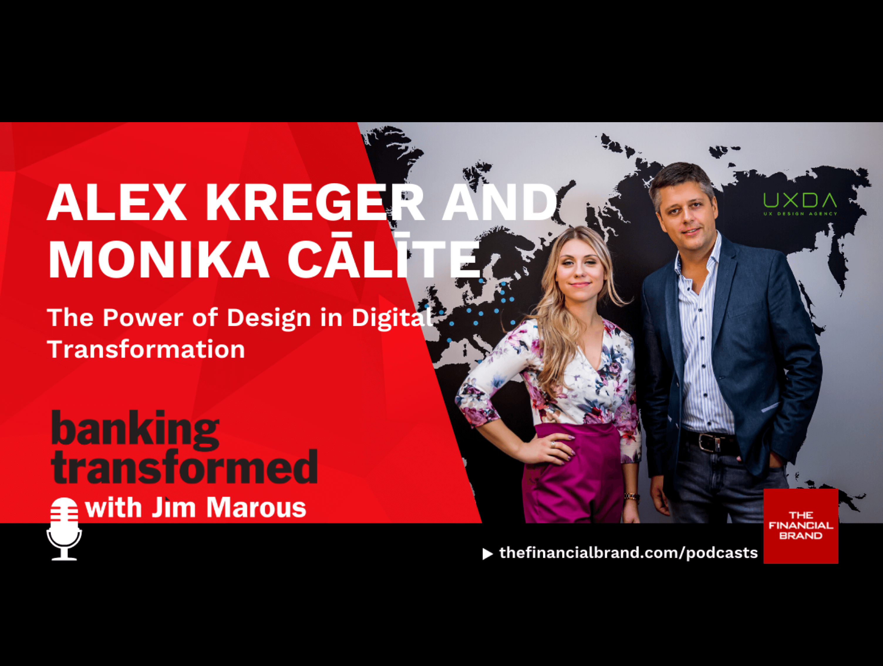 UX Design Agency on the Banking Transformed podcast by Jim Marous
