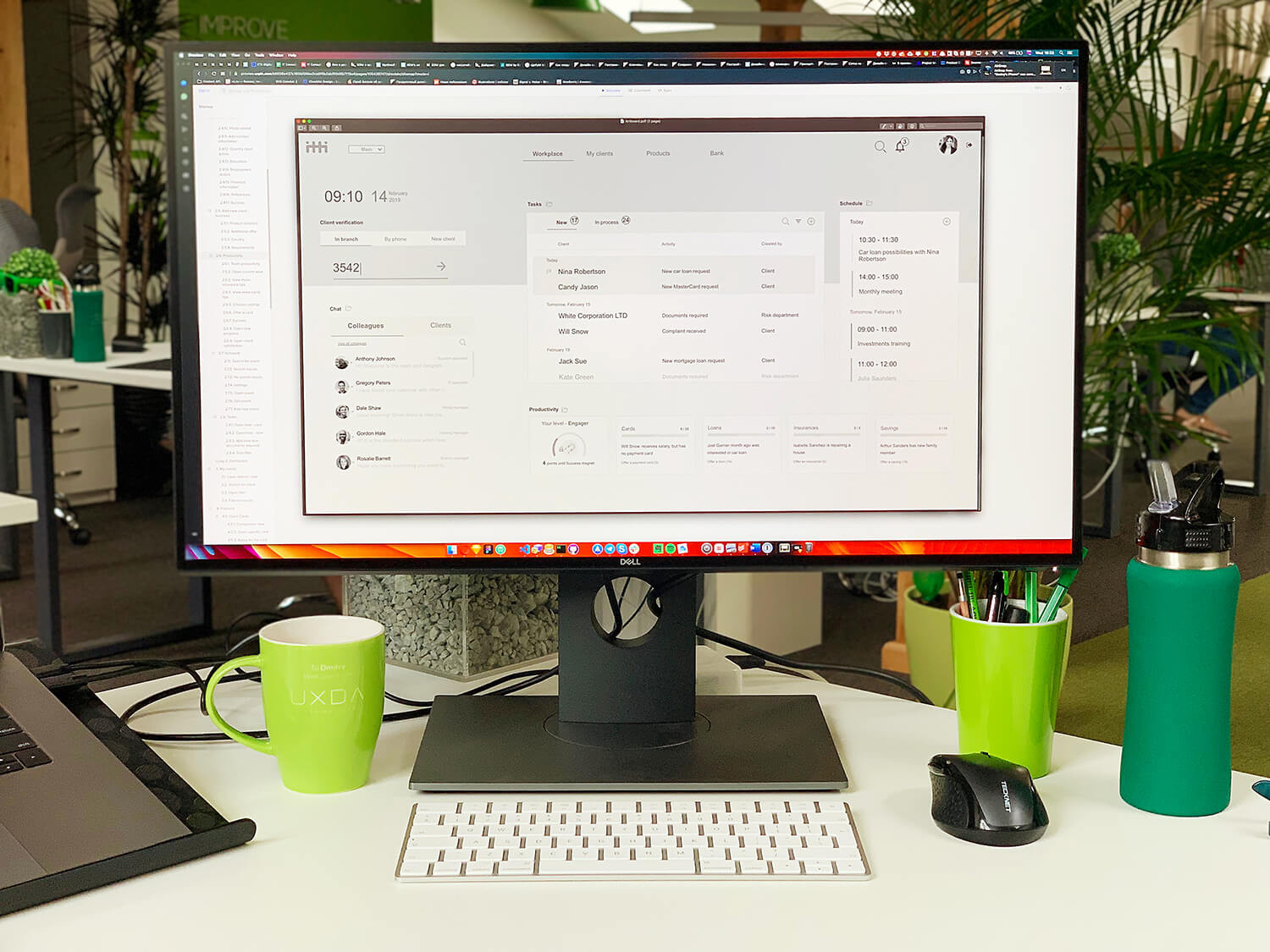 ux-design-core-banking-case-study-wireframes