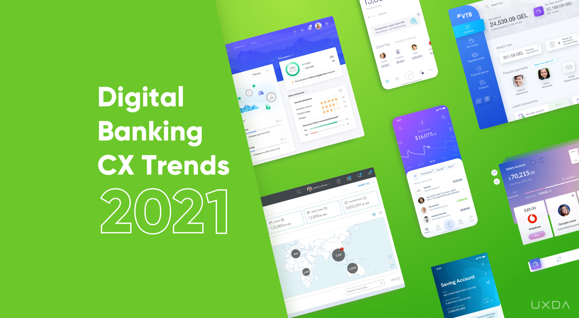 🎧 Banking Customer Experience Trends for the Digital Breakthrough in 2021