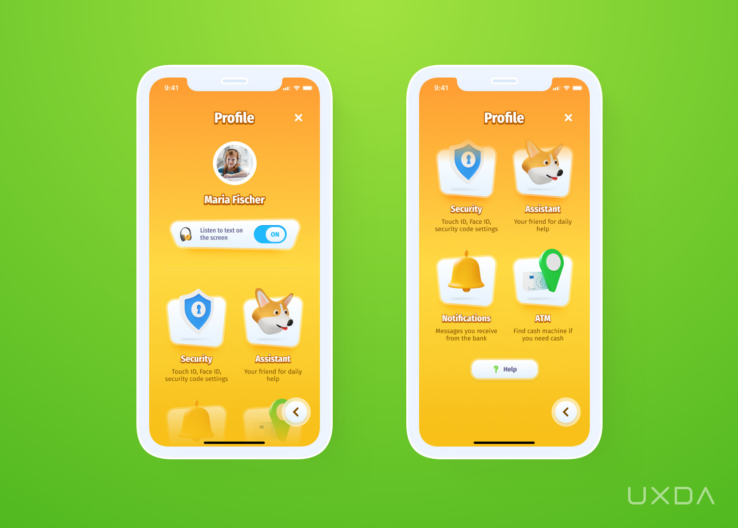 Banking App For Kids Profile