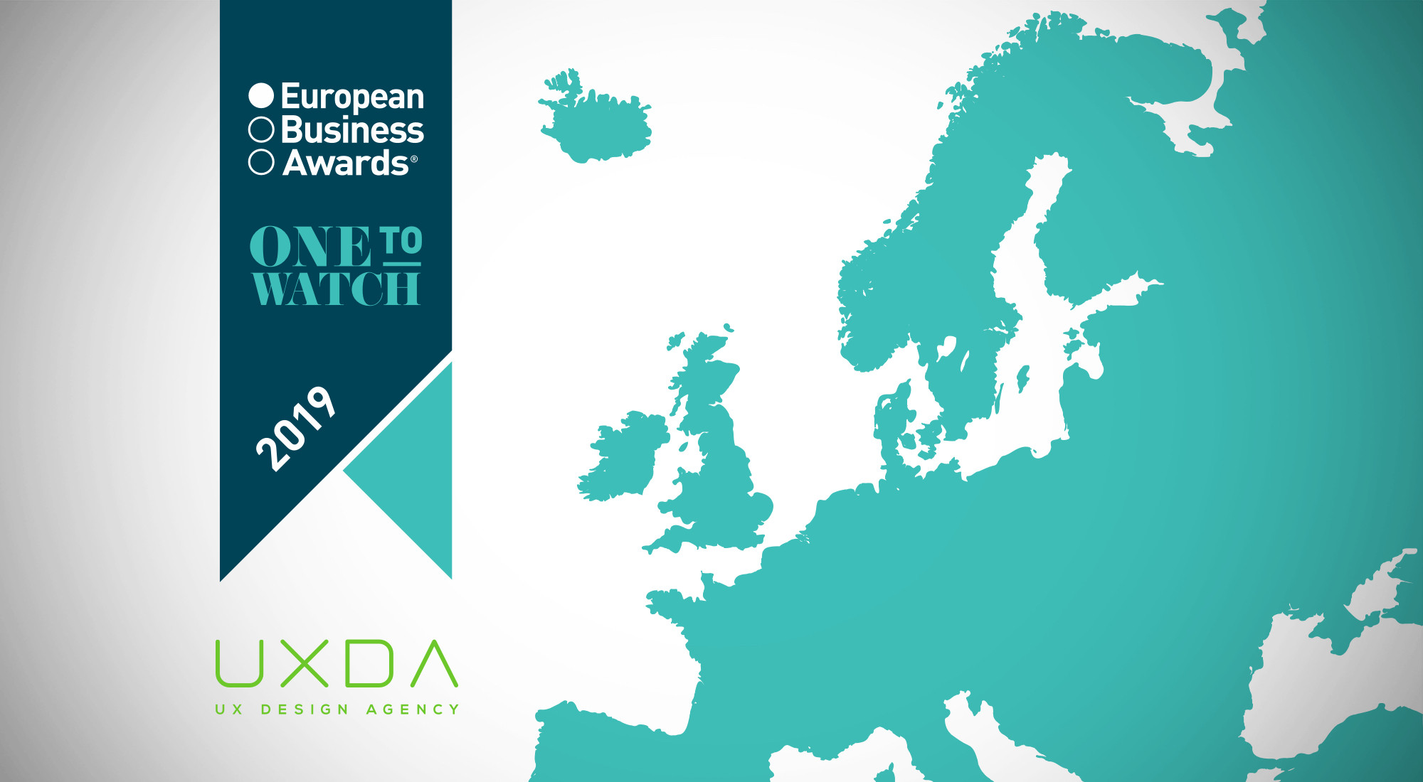 UXDA Amongst the Best Companies in the European Business Awards