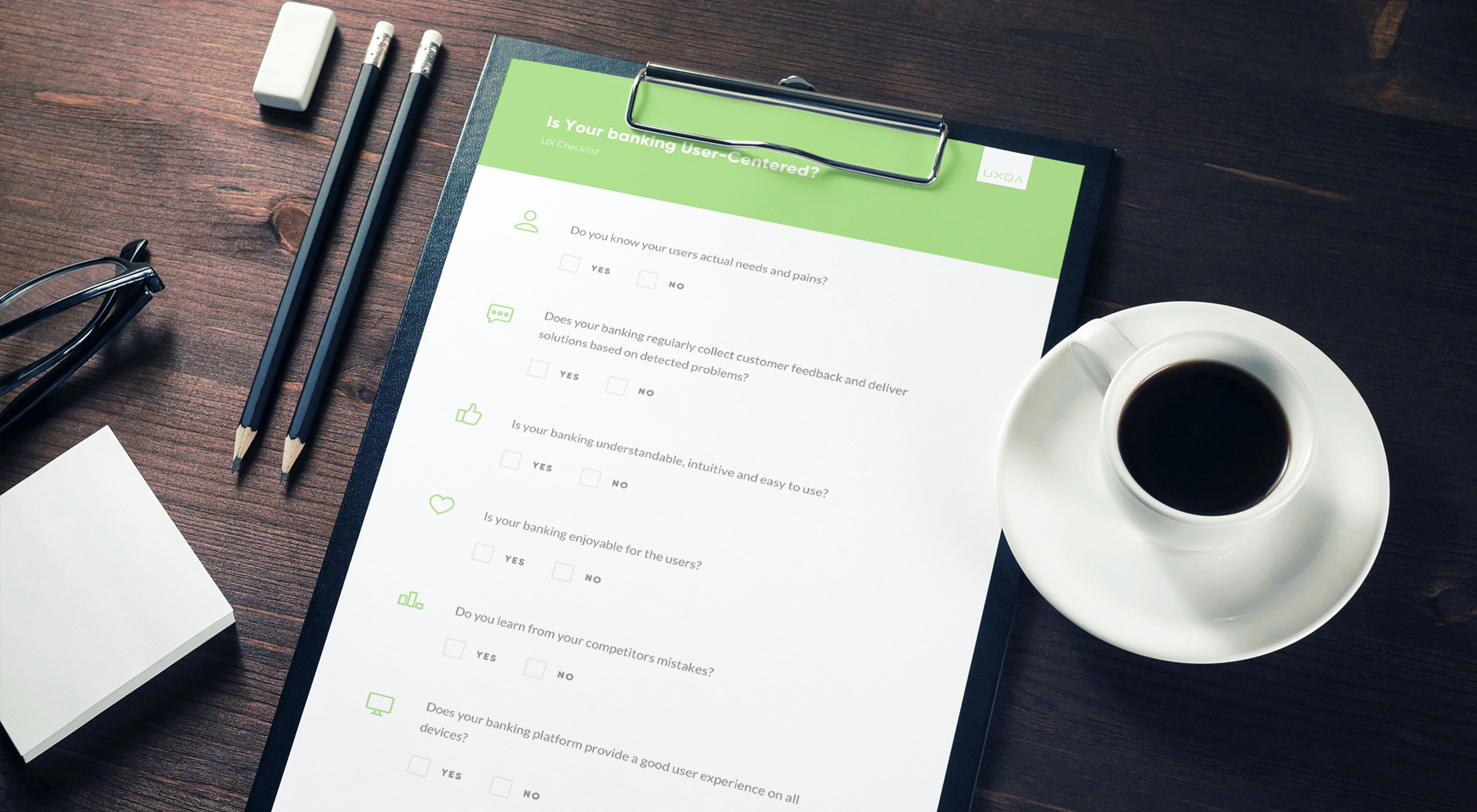 UX Checklist: Is Your Banking UX Design User-Centered?