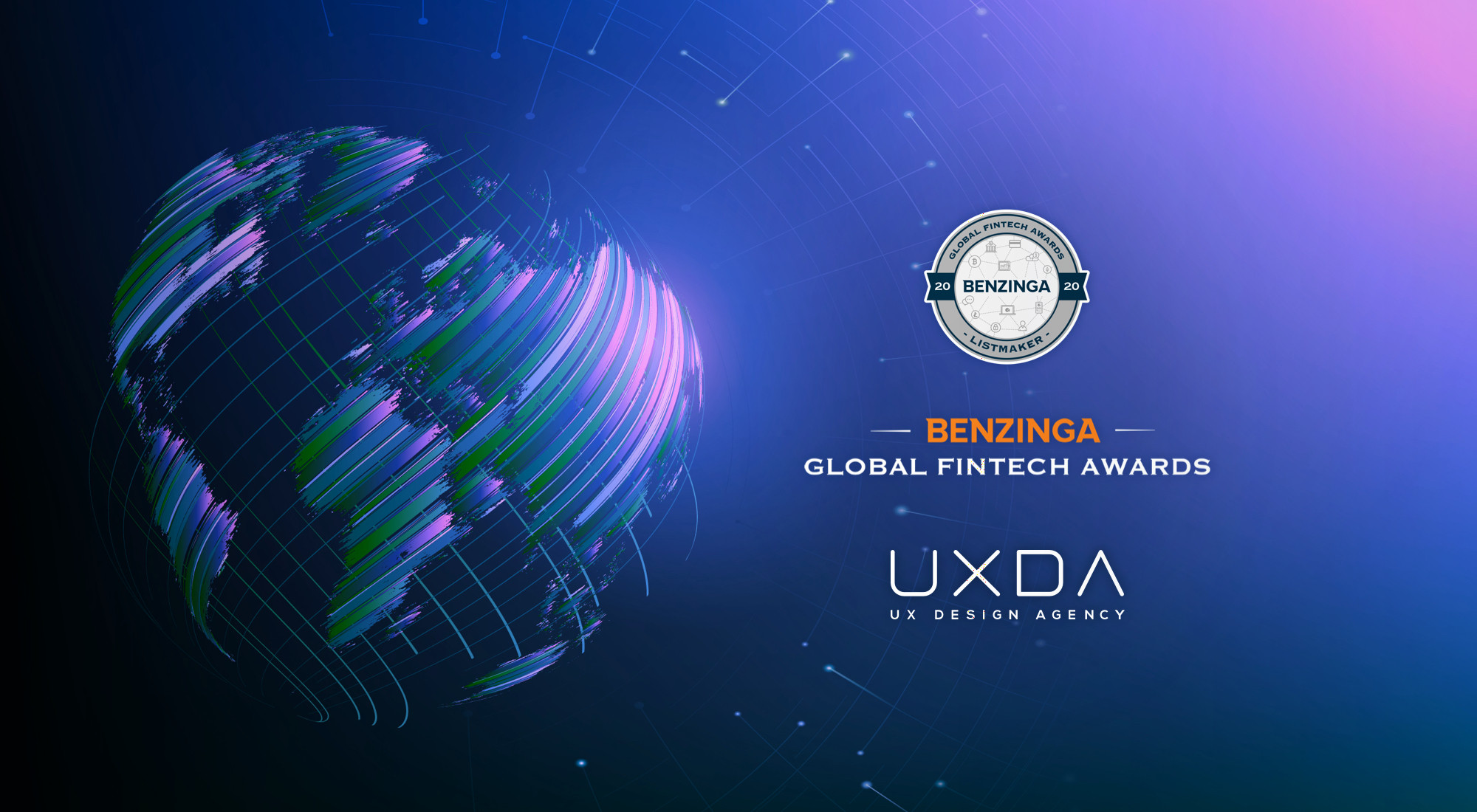 UXDA Becomes Benzinga Global Fintech Awards Listmaker as the Best Financial Research Company